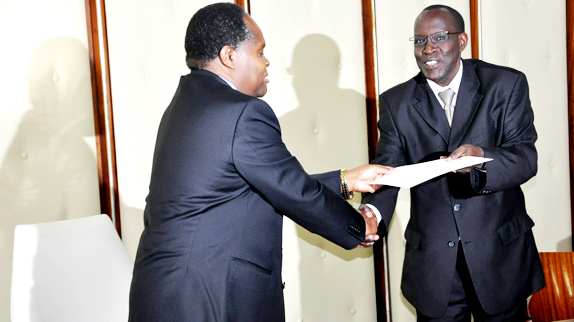 Certificate Award to Lead IQAs by DVC AF | Christopher A  MOTURI
